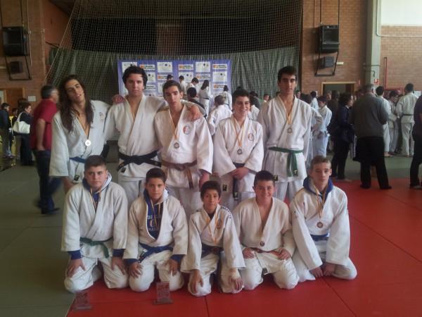 Cto. de Aragón por equipos Infantil-Cadete