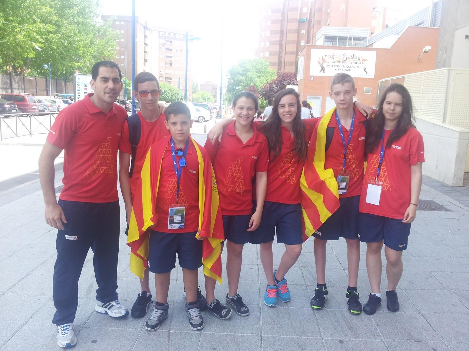 Cronica Campeonato de España Infantil y Cadete (Leganes)