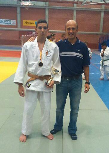 Sergio Ibañez, campeón de España absoluto -60 kg. FEDC
