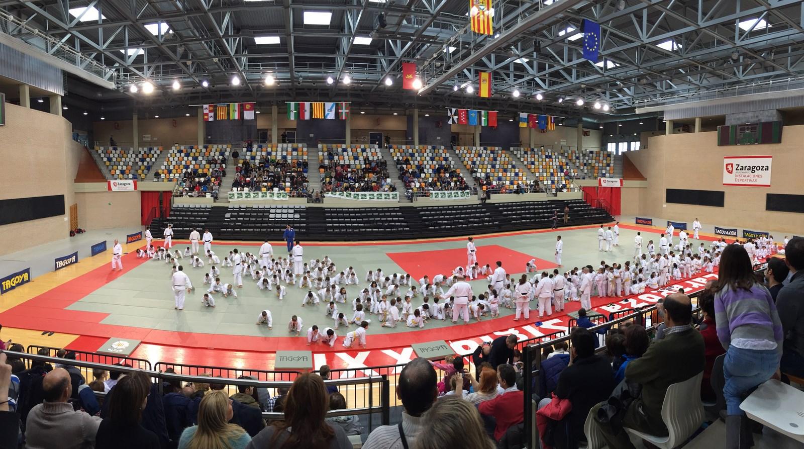 Fiesta del Judo en Aragón 14/02/15