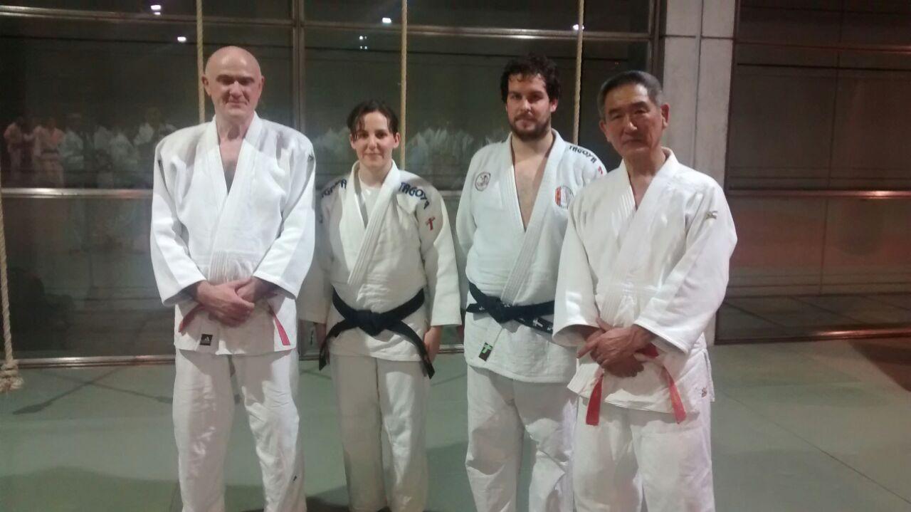 Curso profesores Katanashi y Janicot (Madrid) 14-15 febrero