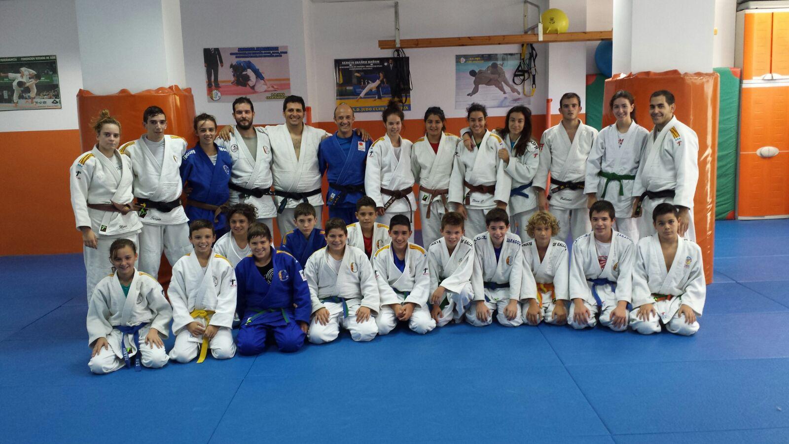 Entrenamiento de sábado con el gimnasio Ibón (Huesca)