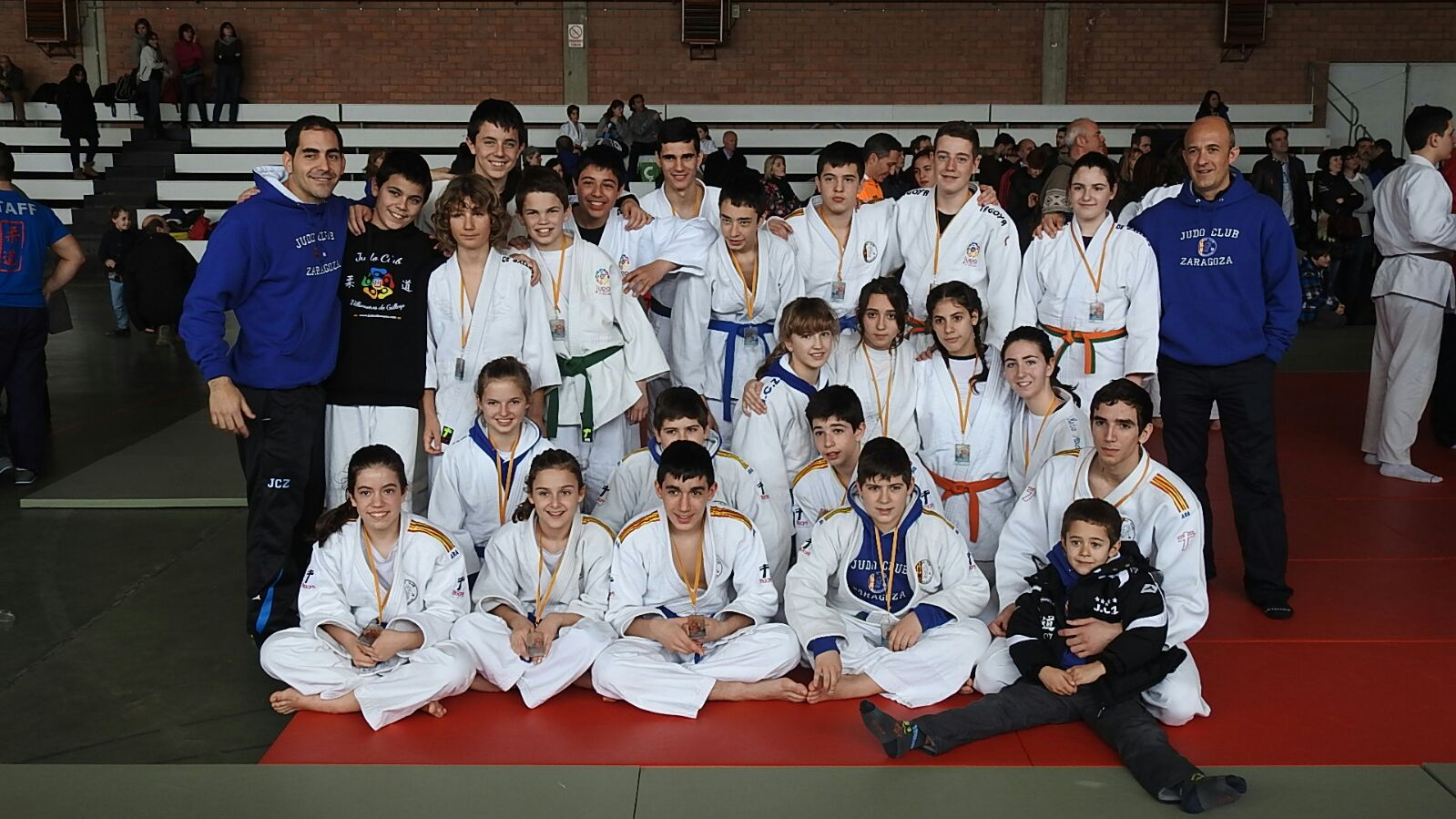 1º Fase Cto. de Aragón Infantil-Cadete 28/02/16