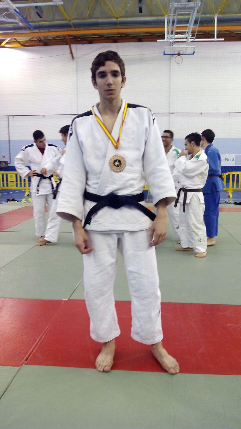 Sergio Ibañez 3º clasificado Cto. España Once 19/03/16