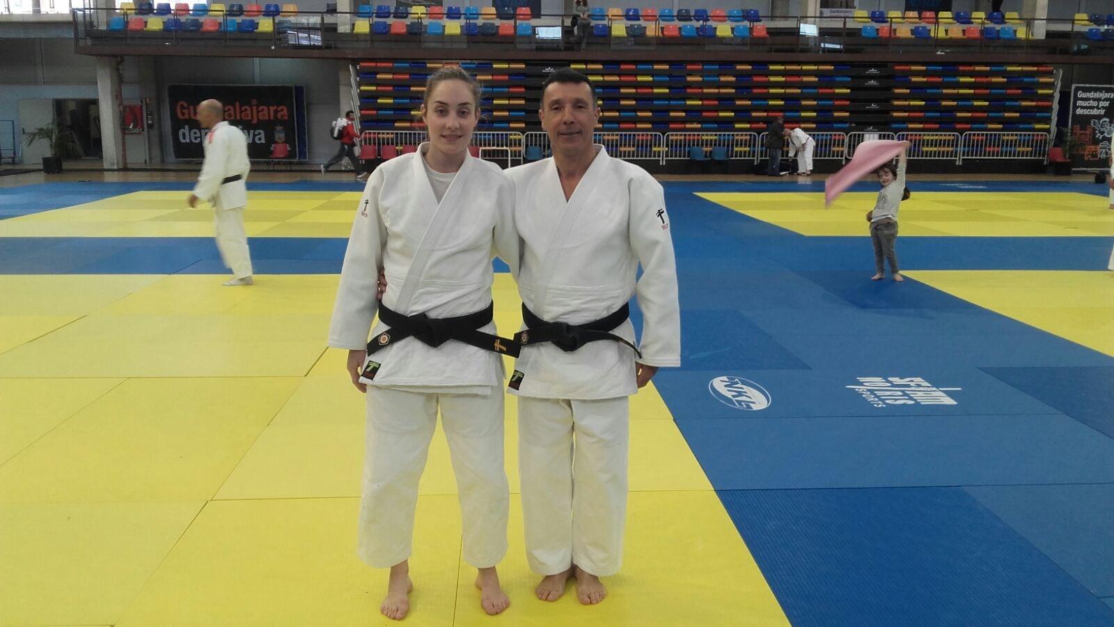 Antonio y Cristina Berrocal en el cto. España de Katas 03/04/16