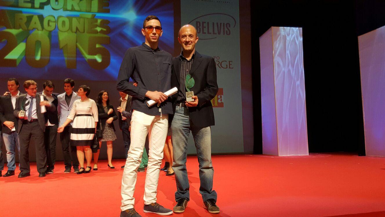 Sergio Ibañez Premio Deporte y Discapacidad 2016