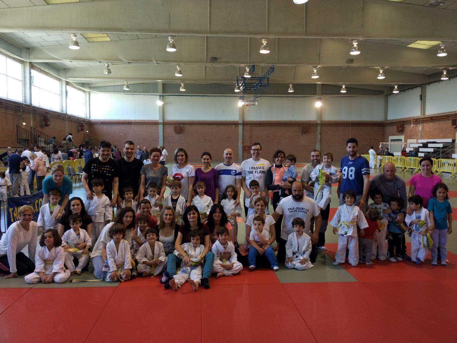 Jornada de Judo en familia 15/05/16
