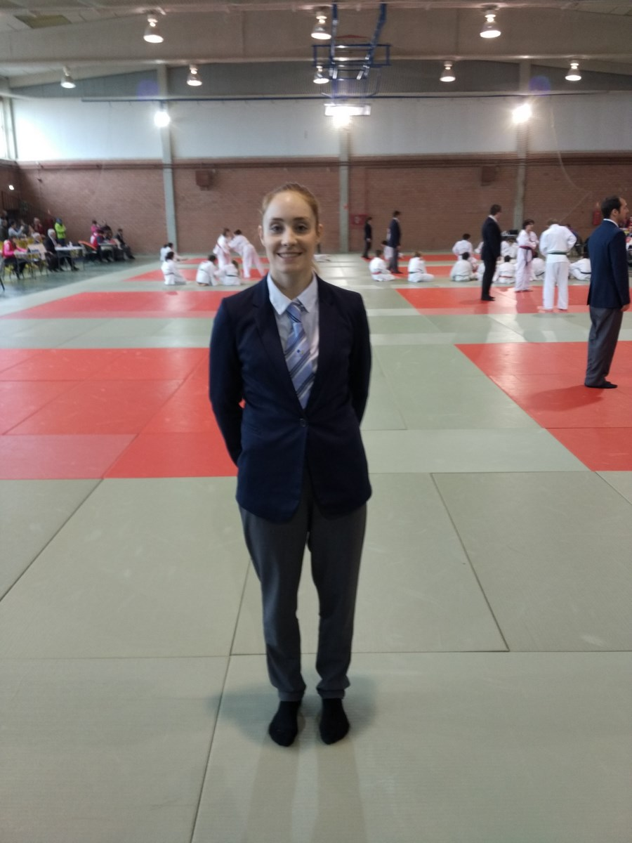 Cristina Berrocal nuevo Juez Árbitro 11/12/16