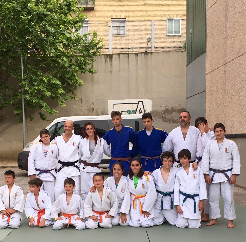 Exhibición en el colegio Enrique de Ossó 27/05/17