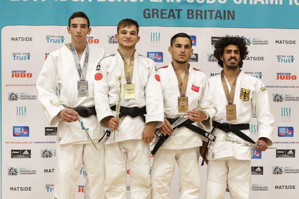 Sergio Ibañez subcampeón de Europa IBSA (Birmingham) 04/08/17