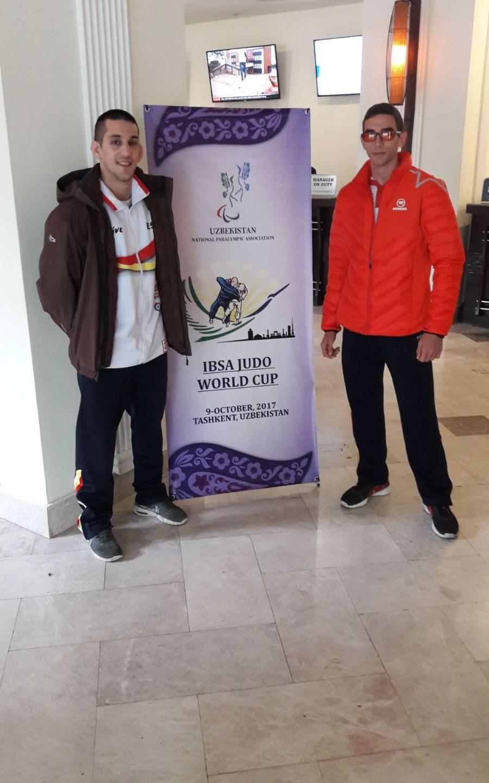 Sergio Ibañez en la World Cup IBSA Uzbekistán 09/10/17