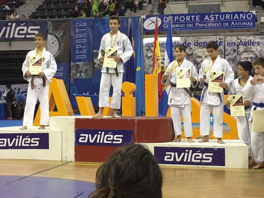 Daniel Murillo campeón de la Supercopa España de Avilés 29/10/17