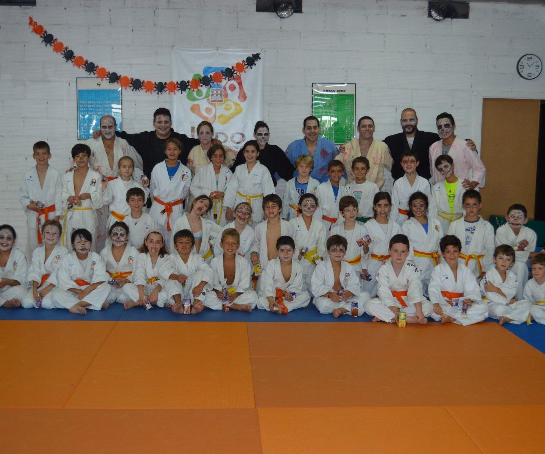 Jornada de Halloween JCZ y Judo Villanueva 28/10/17