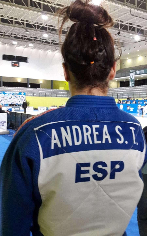Andrea Sebastián en el Open Europeo de Portugal 03/02/18
