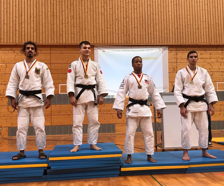 Sergio Ibañez bronce Torneo IBSA Heidelberg (Alemania) 10/02/18