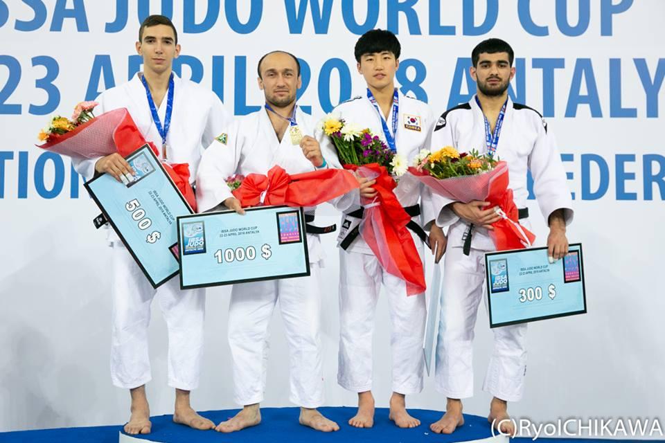 Sergio Ibañez plata Copa Mundo IBSA Turquía 22/04/18