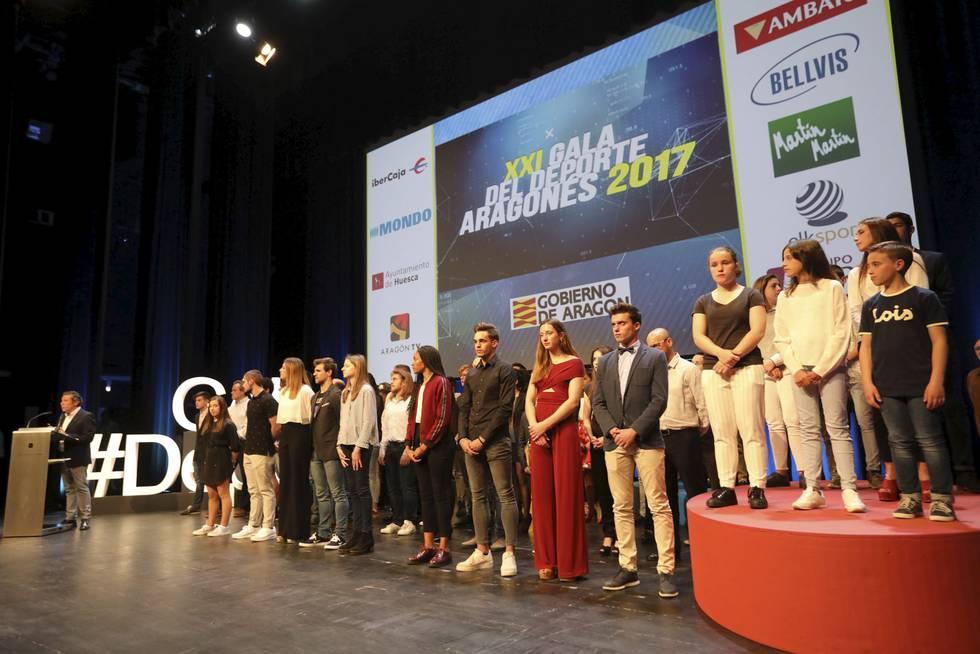 Gala del deporte aragonés 24/04/18