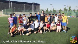 Jornada convivencia JCZ-Villanueva (Rugby-Paintball-Pizza)