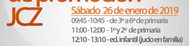 I Jornada de promoción JCZ Rosa Molas (ed. infantil y primaria) inscrip. hasta 22/01/19