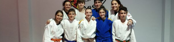 9 judokas de JCZ en el Cto. de España Escolar