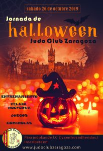 Jornada Halloween JCZ (inscrip. hasta 19/10/19)