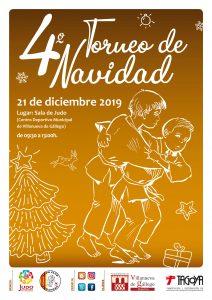 Torneo de Navidad Judo Villanueva de Gállego (nac. 2010-2011-2012) inscrip. hasta 14/12/19