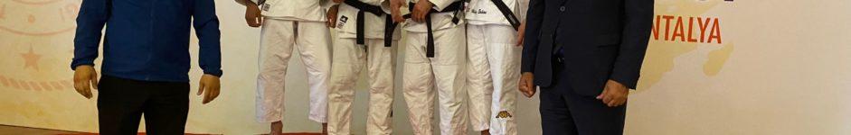 Sergio Ibañez bronce en la International Cup Para Judo Antalya (Turquía) 07/04/21